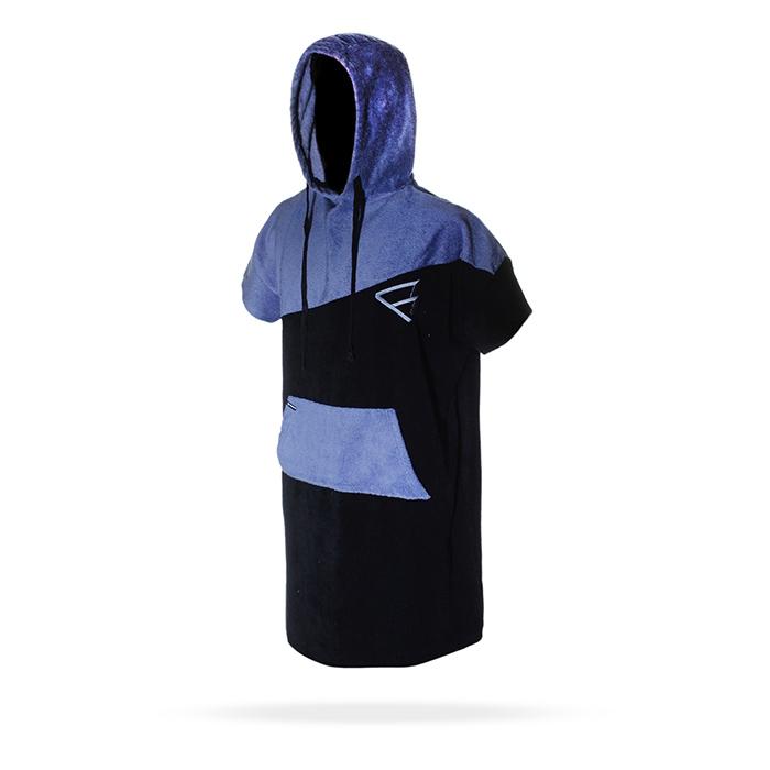 Poncho men 2017 синее-черное
